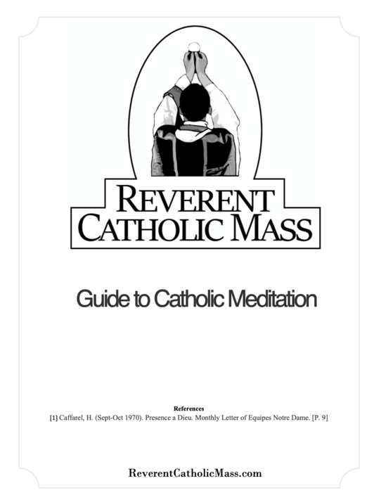 The Essential Catholic Beginner's Guide to Meditation